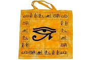 Striking Eye of Horus Tote Bag
