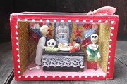 Second Quality Day of the Dead Diorama - At the Ofrenda