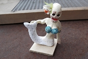 Day of the Dead Mermaid or Sirena - Second Quality - Repaired