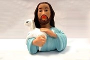 Celebriducks Bath Toy - Jesus with Lamb Duckie