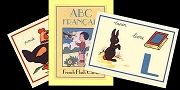 Retro 1940s Style French Flash Cards