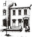 Allegheny West 1 Rubber Stamp