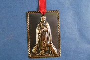 Shiny Copper San Martin de Porres Milagro - Patron Saint of Racial Harmony