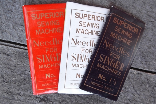 vintage sewing machine needles