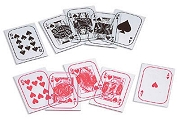 Mini Clear Playing Cards - Set of 52
