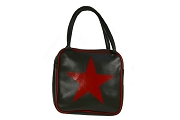 Cooltura Corazón Handbag - Square ArmyGreen Revolution Bag with Star