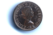 Authentic British Sixpence Coin for Weddings and Good Luck