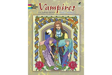 Vampires Traditional Coloring Book with Free Mini Box of Crayons