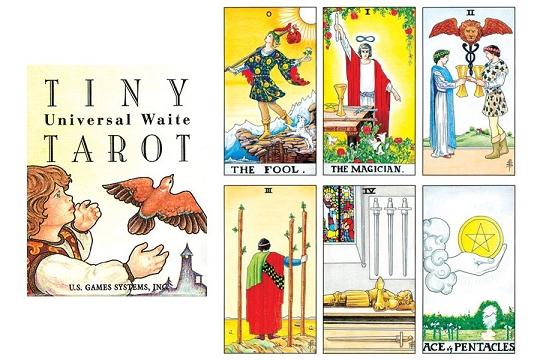 universal waite tarot deck instructions