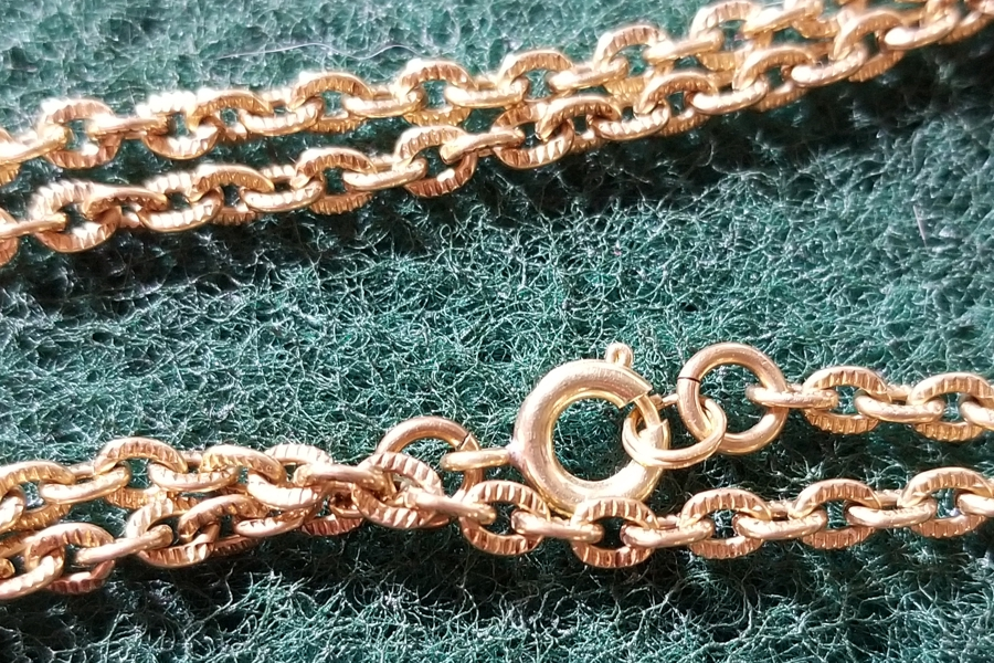 Gorgeous SOLID Bronze Chain - 28 inches