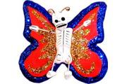 MINI (2-inch) Day of the Dead Mariposa (Butterfly) Ornament