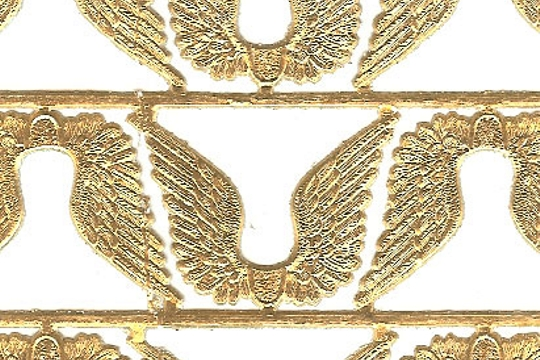 Mini Golden Angel Wings Dresdens (6)