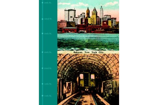 Vintage Style Journal Featuring the New York Subway System