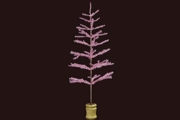 Small Pink Feather Tree
