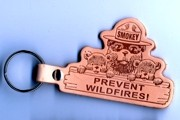 Smokey Bear Key Chain