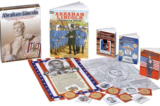 Abraham Lincoln Discovery Art Box