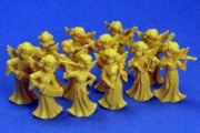 Vintage German Mini Angel Orchestra - Set of 12 - in Original Package