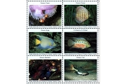 Artistamps/Faux Postes - Tropical Aquarium