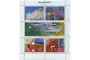 Raoul Dufy Artistamps/Faux Postes