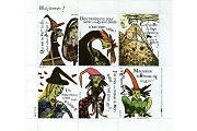 Artistamps/Faux Postes - Halloween