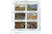 Artistamps/Faux Postes - Les Impressionistes (The Imprssionists)