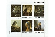 Artistamps/Faux Postes - Vermeer