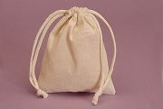 Medium Muslin Bag-Natural
