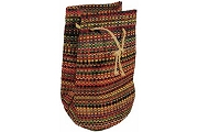 Multicolor Woven Raffia Bag from Madagascar
