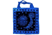Sun and Moon and Stars Foldable Tote Bag