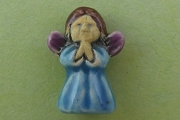 Mini Blue Angel Bead