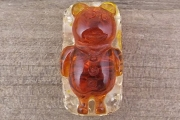 Faux Amber Bear Bead
