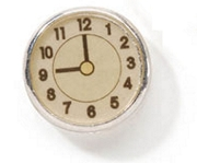 Little Natural Clock Bead