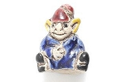 Ceramic Gnome or Elf Bead