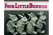 Four Little Bunnies Nostalgic Children's Book