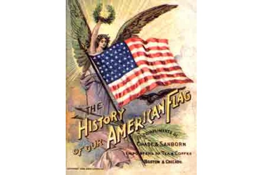 The History of Our American Flag Reprodution Booklet