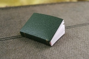 Miniature Faux-Leather Covered Book or Journal