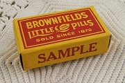 Vintage Medicine Sample Box - Brownfields Little Pills