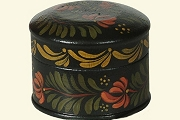 Mini Tole Painted Wooden Box