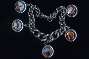 I Love New York Retro Charm Bracelet