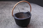 Vintage Miniature Cast Iron Cauldron