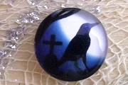 Little Crow Cabochon