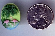 MINI Flamingo Cabochon