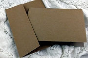 Paper Bag (Kraft) Note Card and Envelope