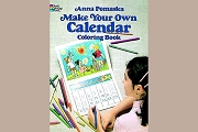 Make your Own Calendar Coloring Book with Free Crayons