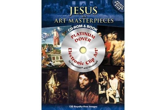 120 Great Paintings of the Life of Jesus Clip Art - Book & DVD