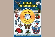 Full-color Classic Tattoo Designs CD-ROM and Book