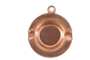 Vintage Copper Ashtray Charm