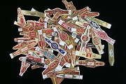 Vintage Cigar Band Assorments - All Different