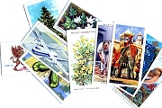 Package of 10 Vintage Cigarette Cards