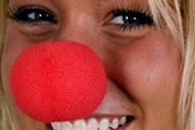 2-Inch Red Foam Clown Nose